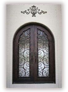 Leaded Bevel Doors