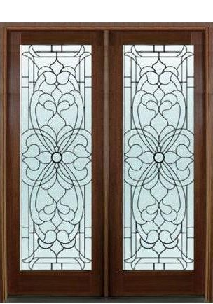 Leaded Bevel Doors
