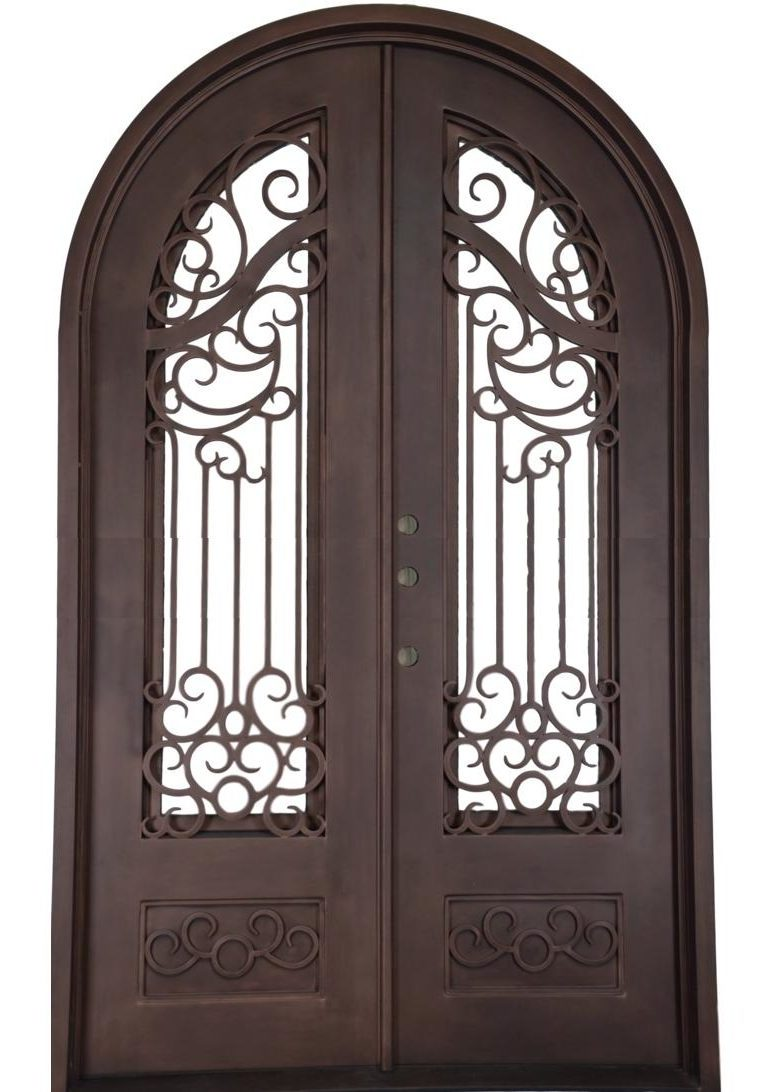 In Stock Old Mobile Iron Doors