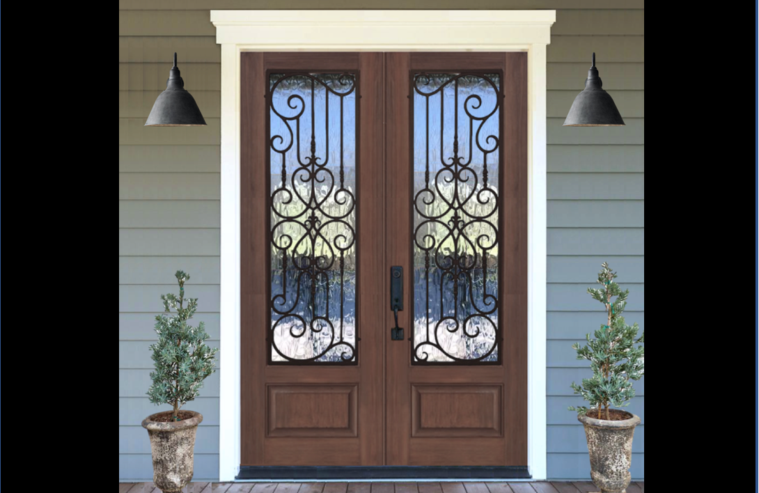 In Stock Old Mobile Iron Doors Jemison Wholesale Door